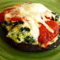 Lasagna Stuffed Portabella Mushrooms