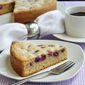 Sunken Grape Almond Cake