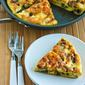 Recipe for Three Cheese Zucchini Frittata with Mozzarella, Feta, and Parmesan