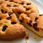 Blackberry Buttermilk Sponge