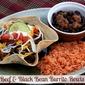 Beef & Black Bean Burrito Bowls
