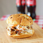 Smoked Pulled Pork Sandwiches with Sweet Coleslaw