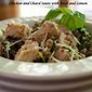 Chicken and Chard Sauté with Lemon and Basil