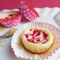 Raspberry Swirl Cheesecake Cupcakes