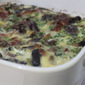 Roasted Eggplant, Pumpkin and Bacon Frittata
