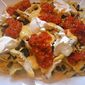 Tex-Mex Grilled Chicken Nachos with Black Beans