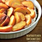 Peaches and Cream Pie + A Foraging and Feasting Giveaway
