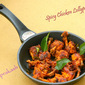 Spicy Chicken Lollipop Fry (made of Godrej Real Good Chicken Lollipop)