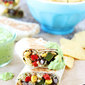 Crispy Black Bean Quinoa Burritos {Giveaway}