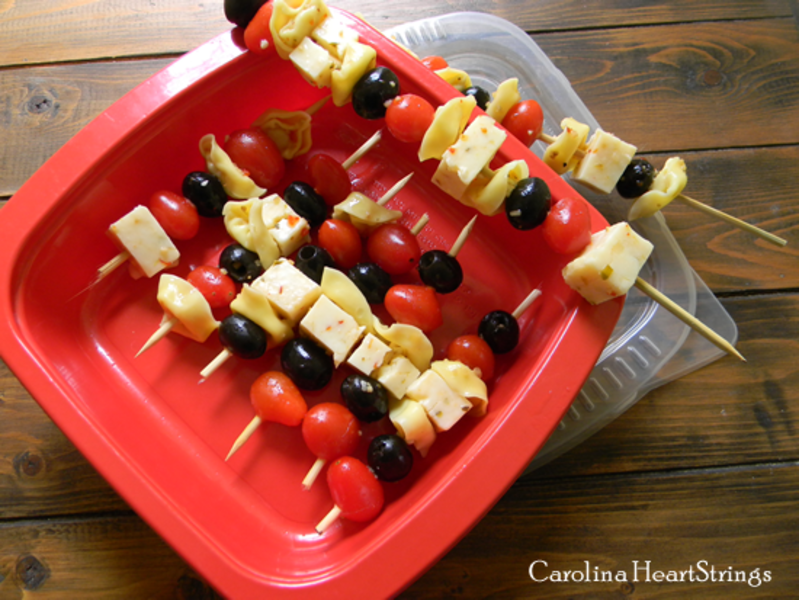 Antipasto Skewers Recipe by Carolinaheartstrings - CookEatShare