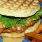 Chicken Breast and Waffle Sandwiches