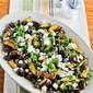Roasted Balsamic Zucchini and Mushrooms with Feta and Thyme