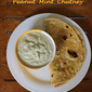 Peanut mint chutney (no garlic) – chutney for idli, dosa and chapathi