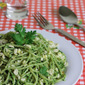 Spaghetti Recipe (Indian Style) – Cilantro Peanut Pesto Pasta