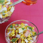 corn chat – easy healthy corn recipe (corn salad)