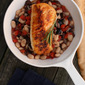 Cod on Roasted Pepper and White Beans {#30DaysofFamilyHealth w/ @AMDiabetesBooks}