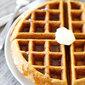 Brown Butter Pumpkin Waffles