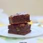 Fudgy Avacado brownies- Easy baking recipes