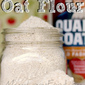 How to Make Oat Flour.