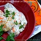 Fish Fillets Baked in Sour Cream – to end a long day.