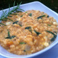 Butternut Squash, Rosemary and Bleu Cheese Risotto