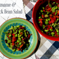 Edamame and Black Bean Salad