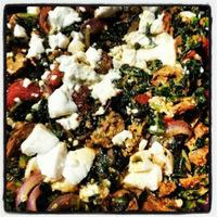 """VeganMoFo 2013 #14: Italian """"Sausage"""" & Kale Sauté Whip-Up!"""