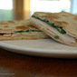 Turkey Breast and Swiss Cheese Flatbread Melts