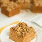 Applesauce Snack Cake with Oat-Nut Streusel