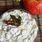 Apple Pachadi (Apples in a creamy mustard and yogurt sauce)