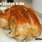 Easiest Ever Whole Chicken in the Crockpot