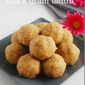Black gram laddu / Ulunthu laddu