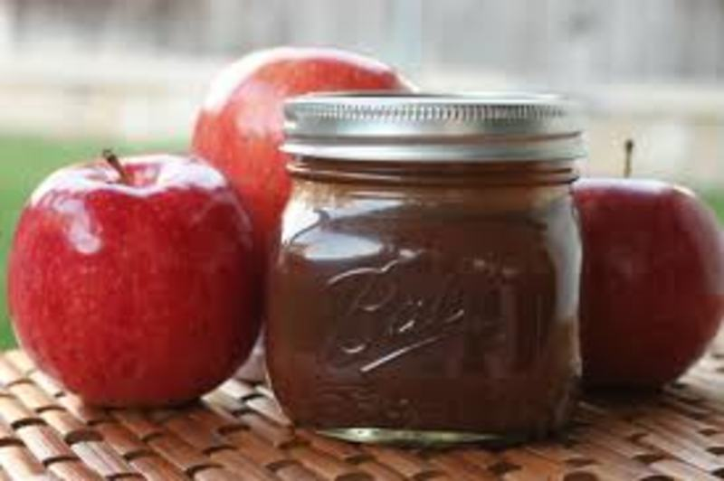 My Homemade Apple Butter with Apple Schnapps Recipe by Robyn ...