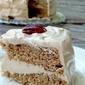Spice Cake with Maple Cream Cheese Frosting