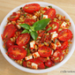 Kamut, Bacon and Tomato Salad Recipe with Roasted Red Pepper Relish