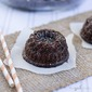 Mini Chocolate Bundt Cakes with Coffee Glaze