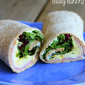 Ham and Egg Wrap with Herbs {easy lunch idea!}