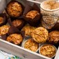 Cornish Toffee Honeycomb Pumpkin Muffins