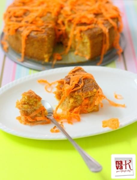 Carrot And Almond Cake Slef Raising Flour