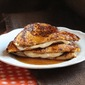 Pumpkin French Toast Stuffed with Orange Cream Cheese