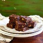 Chocolate, Almond, And Walnuts Energy Bars