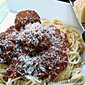 Homemade Meatballs and Pasta Sauce