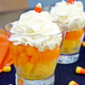 Halloween Candy Corn Fruit Cups