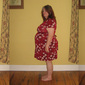 Weight gain photos and little red dress