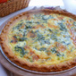 Swiss Chard, Onion And Gruyere Quiche