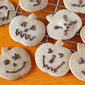How to Make Spicy Ginger Cookies (Halloween Jack-o'-Lanterns) - Video Recipe