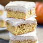 Pumpkin Snickerdoodle Blondies