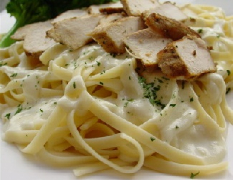chicken alfredo with fettuccine recipe by shalina