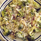 Broccoli with Fettuccine and Cream Sauce and a Review and Giveaway of ~ Bless This Food