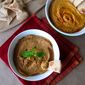 Muhammara and Roasted Red Pepper Hummus